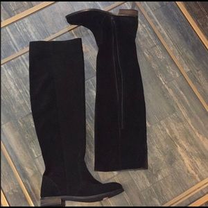 Seychelles suede riding boots 7.5